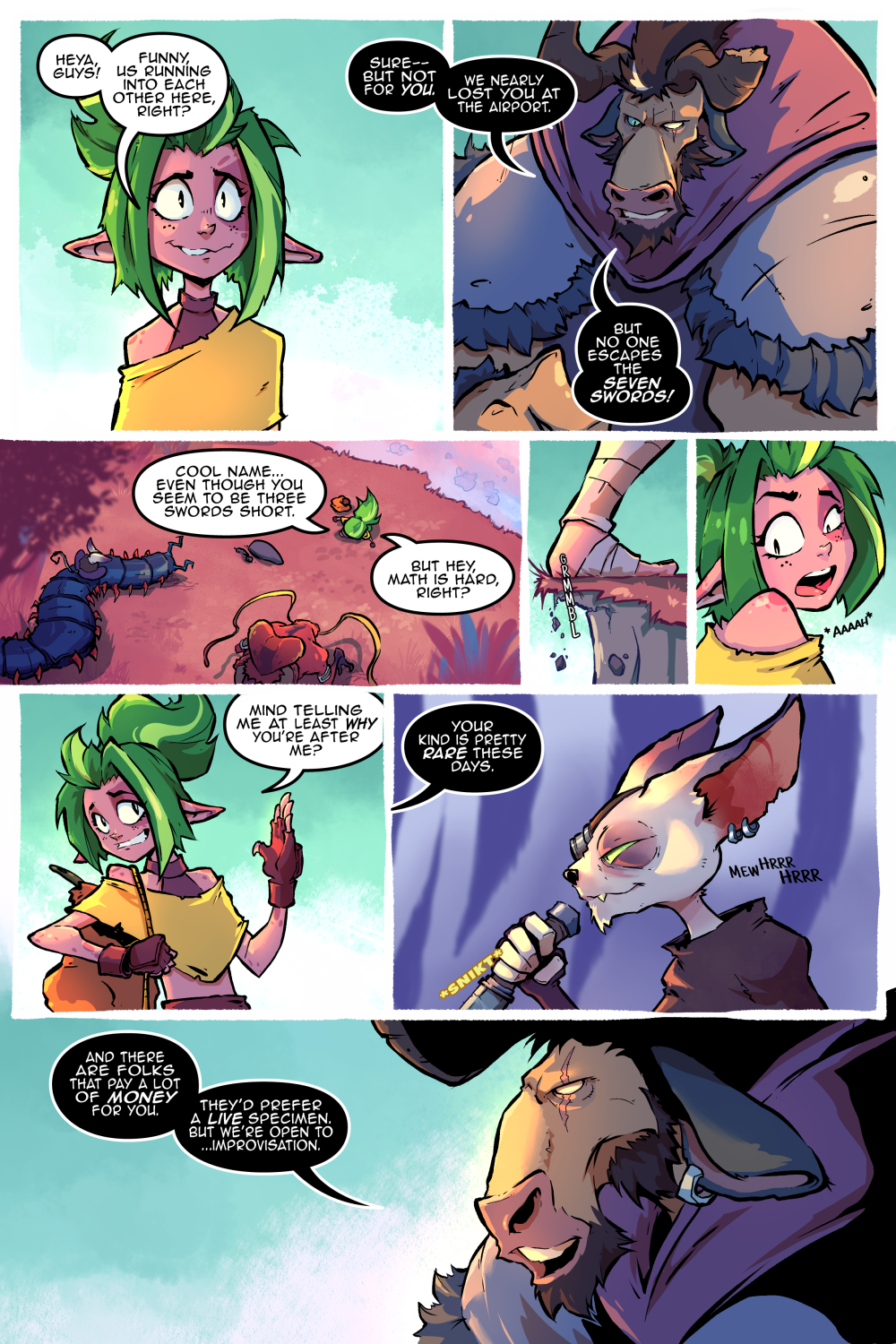 Runa Book One – A new face – Page 03